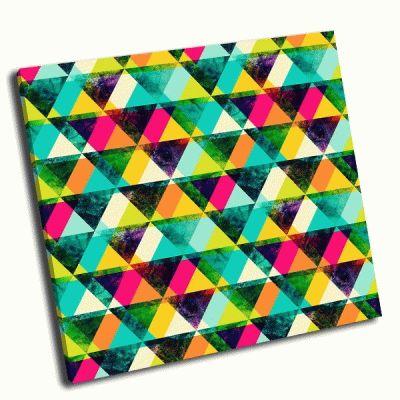 Картина треуголники бесшовные
