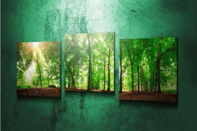Картина триптих весна в нидерландах