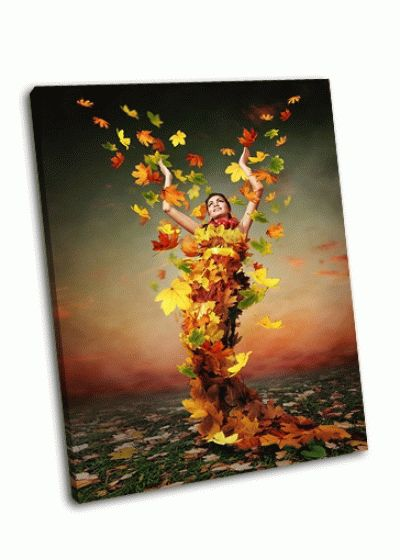 Картина триумф леди, осень