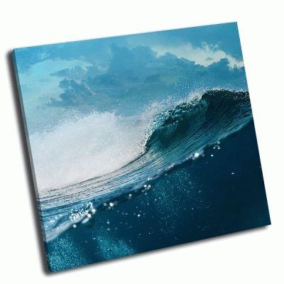 Картина тропические морские волны