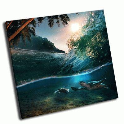 Картина тропический рай