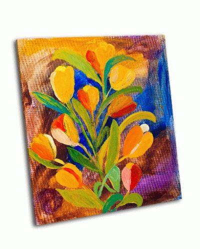 Картина тюльпаны, живопись