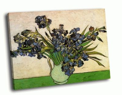 Картина ван гог - ирисы (1889)