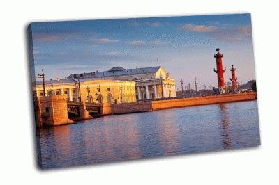 Картина васильевский остров в летний день