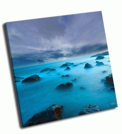 Картина вечер на море-2