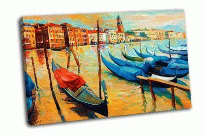 Картина венеция на закате