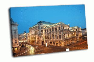 Картина венская государственная опера