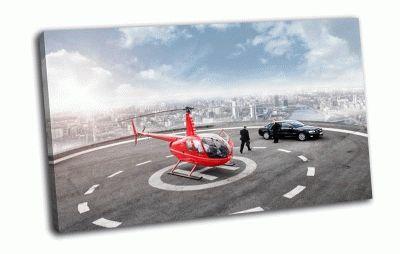Картина вертолёт