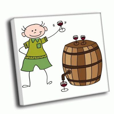Картина винодел петр