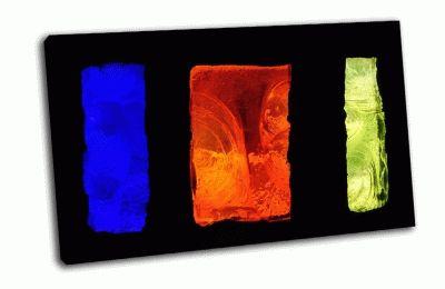 Картина витраж-цветные прямоугольники