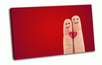 Картина влюбленные пальчики