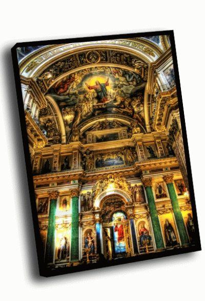 Картина внутренняя роспись исаакиевского собора