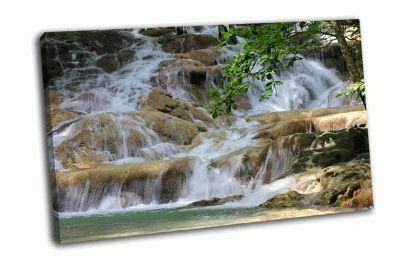 Картина водопад данз ривер