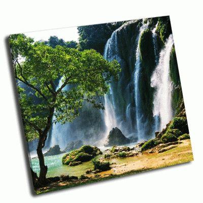 Картина водопад детиан