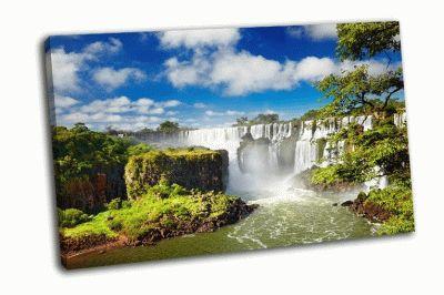 Картина водопад игуасу