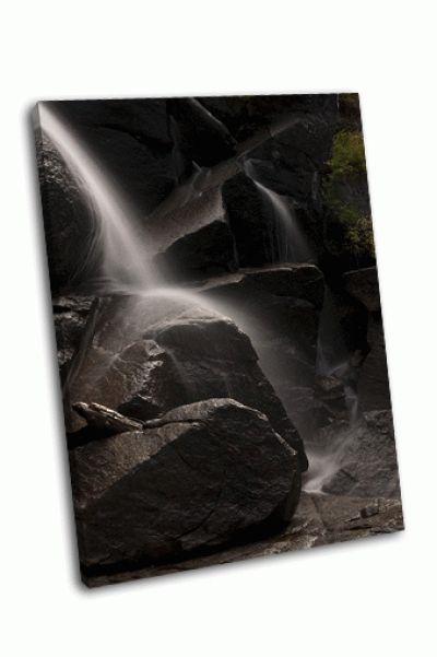 Картина водопад йосемити