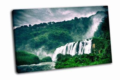 Картина водопад марморе, италия