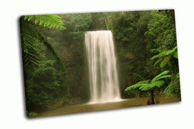 Картина водопад милла йовович, квинсленд, австралия