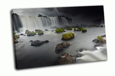 Картина водопад на реке игуасу