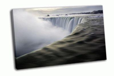 Картина водопад подкова, канада