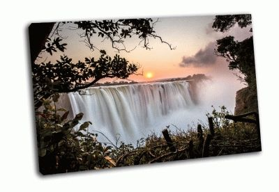Картина водопад виктория