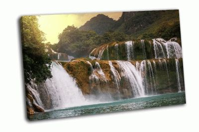 Картина водопад во вьетнаме