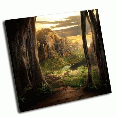 Картина волшебный пейзаж