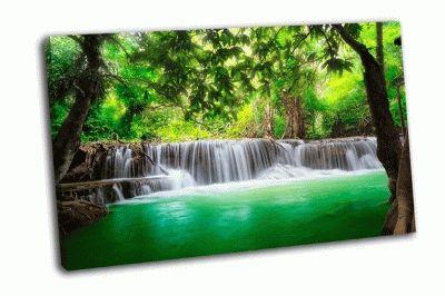 Картина восхитителный водопад хуай мае камин