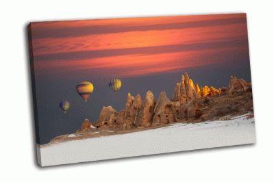 Картина воздушный шар над каппадокии
