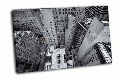 Картина взгляд на желтое такси