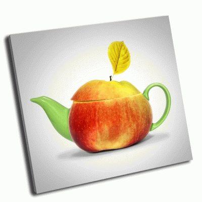 Картина яблочный чай