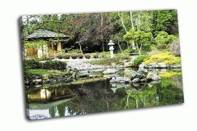 Картина японский сад