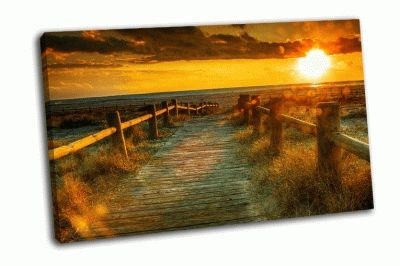 Картина закат в конго