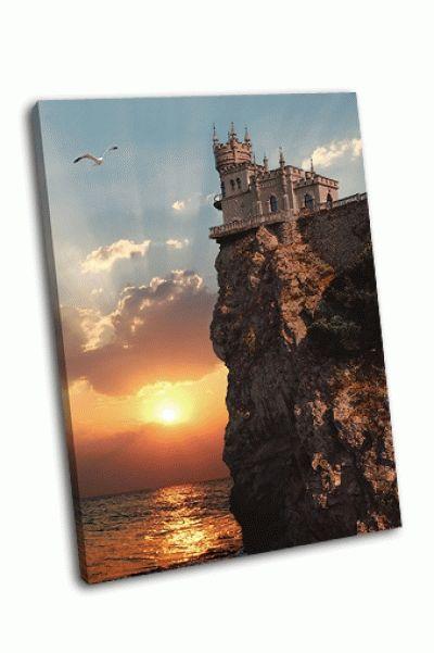 Картина замок ласточкино гнездо под ялтой