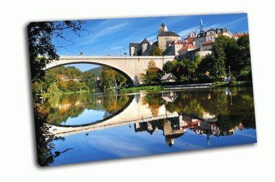 Картина замок локет, чехия
