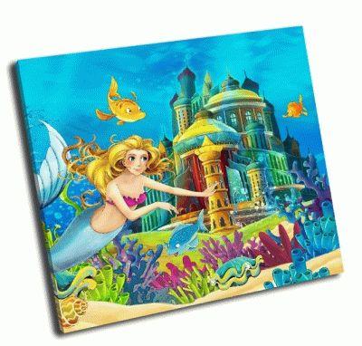 Картина замок принцессы