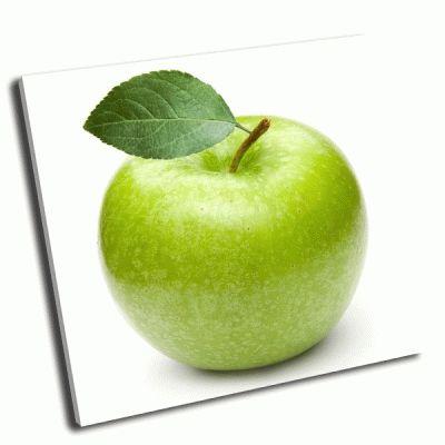 Картина зеленое яблоко
