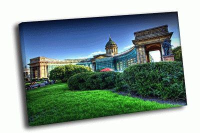 Картина зеленый казанский собор