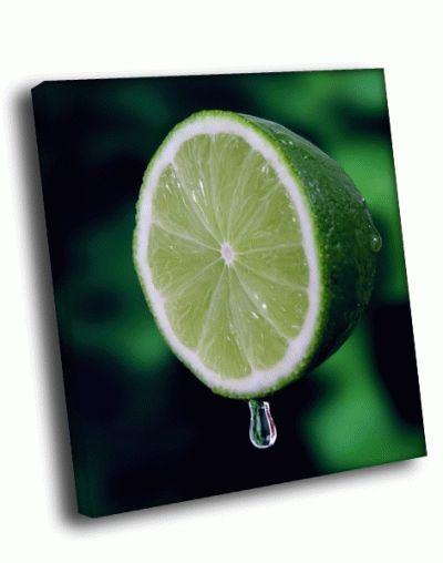 Картина зеленый лайм
