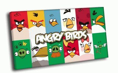 Картина злые птички