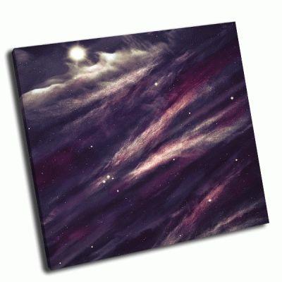 Картина звездное поле в космосе