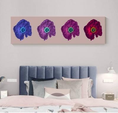 Красочные цветы (панорамная)