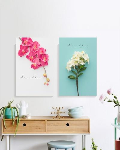 """Комплект картин """"Розовая орхидея"""""""