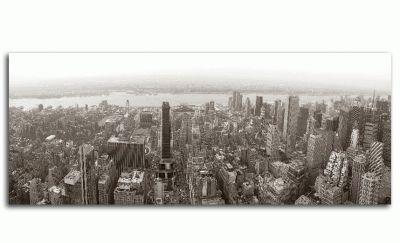 Манхэттен-вид с воздуха, панорама