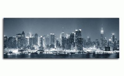 Ночной вид Манхэттена