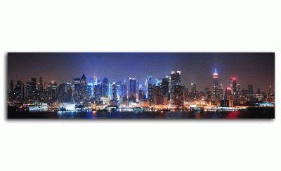 Средний Манхэттен ночью