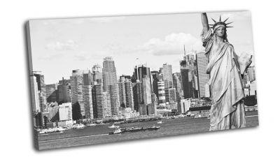 Нью-Йорк и статуя свободы
