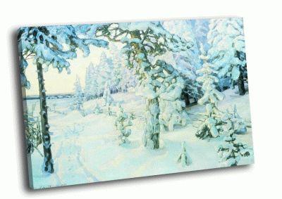 Репродукция картины а.м. васнецов - зимний сон