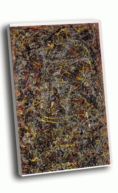 Репродукция картины джексон поллок - № 5 (1948)