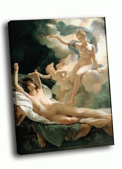 Репродукция картины герен, пьер нарцисс - морфей и ирида (1811)